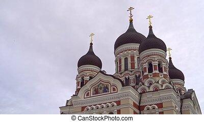 tallinn., nevsky, alexandre, cathédrale