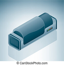 tambour, scanner