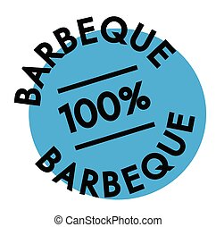 tampon, barbeque