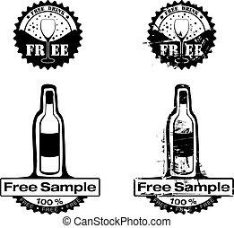 tampon, boisson, gratuite
