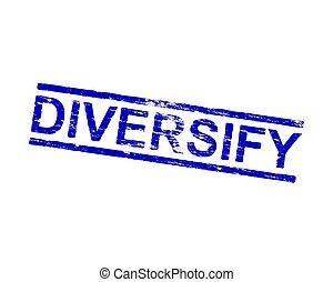 tampon, diversifier