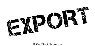 tampon, exportation