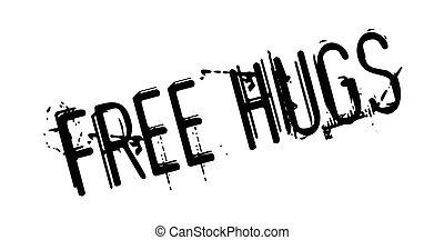 tampon, gratuite, étreint