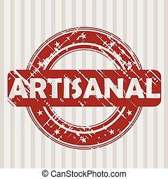 tampon, grunge, artisanal