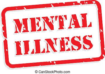 tampon, maladie, mental