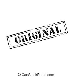 tampon, 'original'
