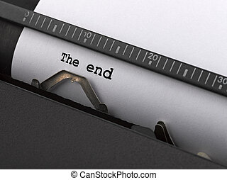 "tapé, end"", vendange, typewriter., ""the, message"