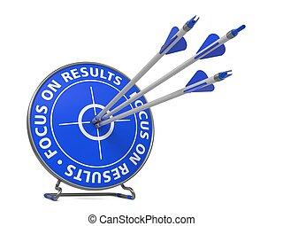 target., slogan, -, foyer, résultats, succès
