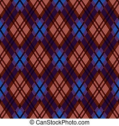 tartan, plaid, illustration, rhombic, seamless