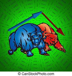 taureaux, ours