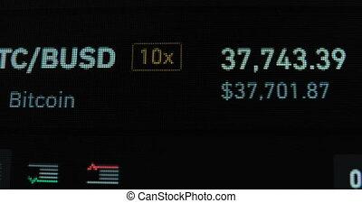 taux, levée, échange, bitcoin, macro, gadget, tomber