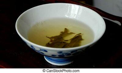 tea., japon, porcelaine, secousse, bol
