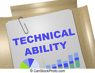 technique, concept, capacité