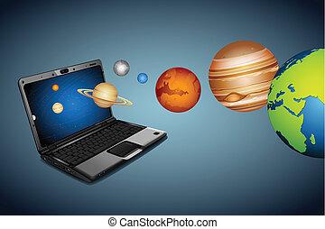 technique, univers
