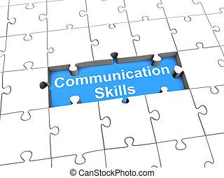techniques, communication, puzzle