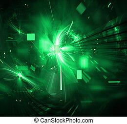 techno, explosion, numérique