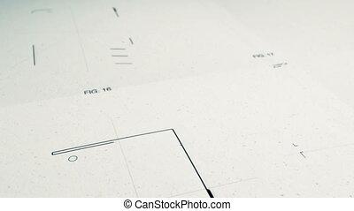 technologie, animatio, dessin, patents