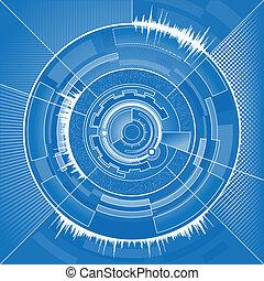 technologie de pointe, cercle