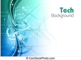 technologie, fond