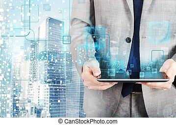 technologie, futuriste