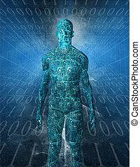 technologie, humanoïde