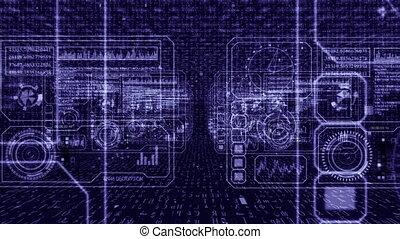 technologie, informatique, panneaux