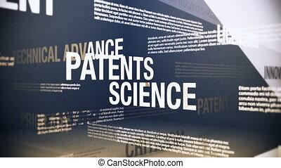 technologie, termes, patents, apparenté