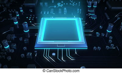 technologie, unité centrale traitement