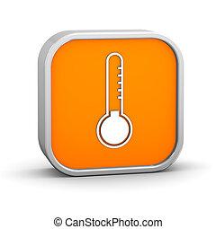 température, signe, bas