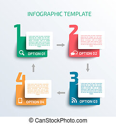template., business, infographics