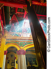 temple, chinois