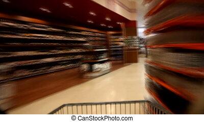 temps, 2, défaillance, supermarché