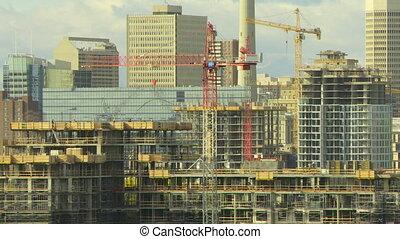 temps, bâtiment, défaillance, construction, 1
