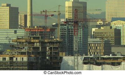 temps, bâtiment, défaillance, construction, 2