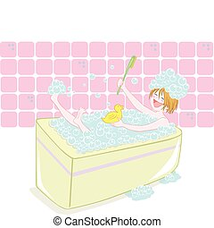 temps bain