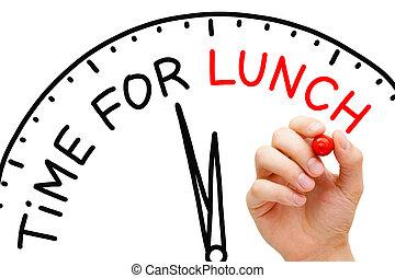 temps déjeuner