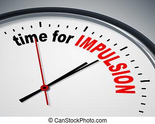 temps, impulsion
