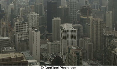 temps, moule, chicago, défaillance, coup, inclinaison