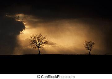 temps, orageux