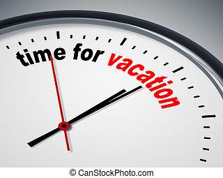 temps vacances