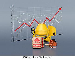 tendance, logement, marché