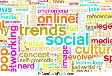 tendances, social
