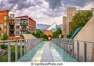 tennessee, en ville, chattanooga, usa