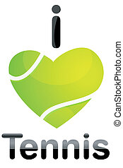 tennis, amour