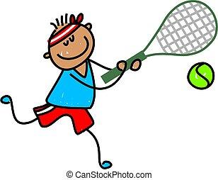 tennis, gosse