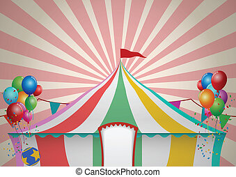 tente cirque, célébration