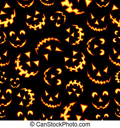 terreur, modèle, halloween, fond