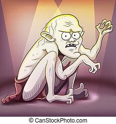 terrifiant, créature