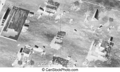 terroriste, base, accès, missile