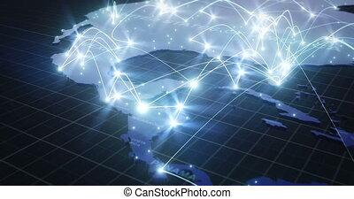text), nord, réseau, global, connexions, v2, par, amérique, sud, (with